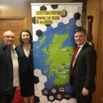 Visiting Hamilton Accies 'Blameless' with Jonathan Ashworth MP