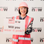 MSP wear it pink campaign support, scottish parliament